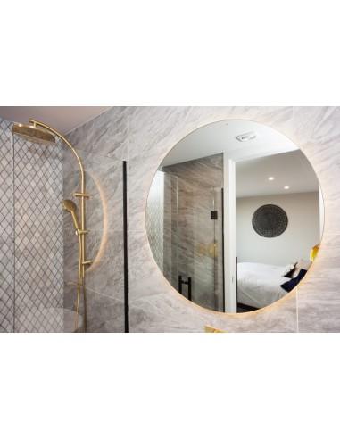 Lustro łazienkowe podświetlane LED...